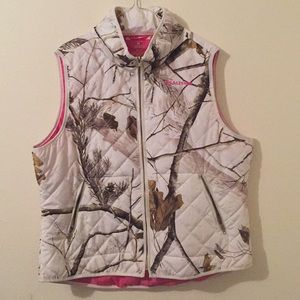 REALTREE WINTER CAMO VEST